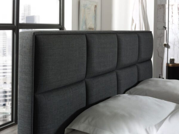 Boxspringset Premium - antraciet - tweepersoons - Montel comfort